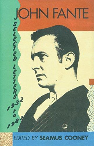 9780876858318: John Fante Selected Letters 1932-1981