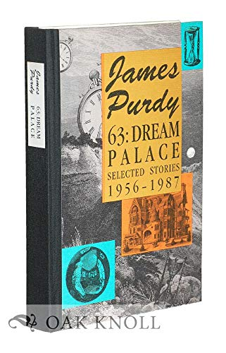 9780876858455: Dream Palace: Selected Stories, 1956-87