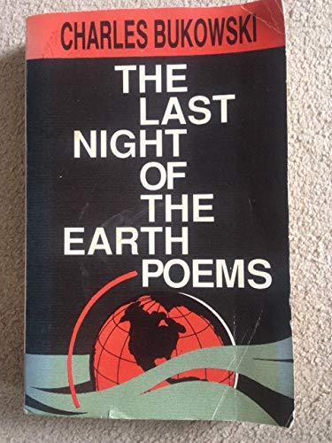 9780876858646: Last Night on Earth Poems