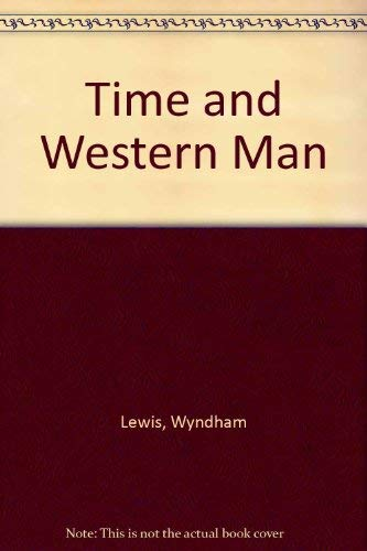 9780876858806: Time and Western Man