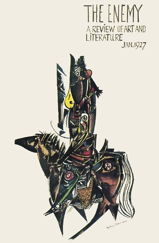 THE ENEMY: A Review of Art and Literature. Volume 1 (I): Number 1. Jan. 1927.: LEWIS, Wyndham.