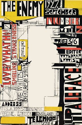 THE ENEMY: A Review of Art and Literature. Volume 2: Number 2. 1927.: LEWIS, Wyndham.