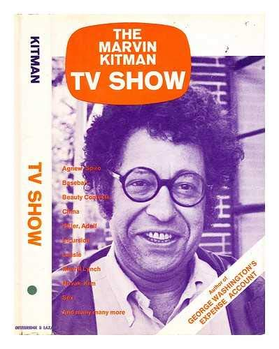 The Marvin Kitman TV show;: Encyclopedia televisiana (0876900724) by Kitman, Marvin