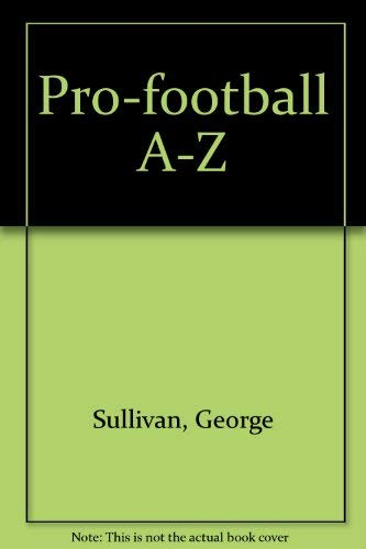 9780876912027: Pro-football A-Z