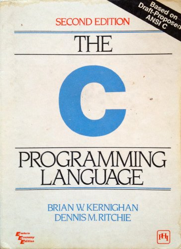9780876925225: C Programming Language (2nd Edition) by Brian W. Kernighan Published by Prentice Hall 2nd (second) edition (1988) Paperback