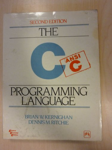 9780876925966: The C Programming Language