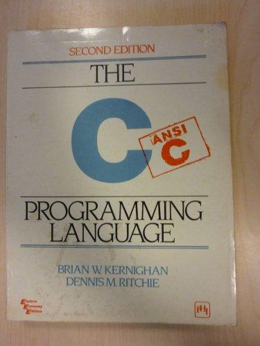9780876925966: The C Programming Language