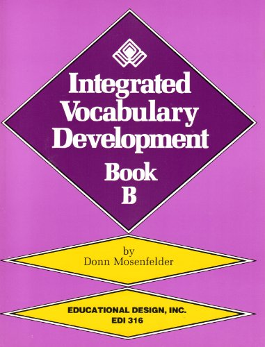 9780876940662: Integrated Vocabulary Development, Book B/With Teacher's Guide