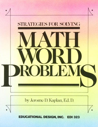 9780876940747: Strategies for Solving Math Word Problems
