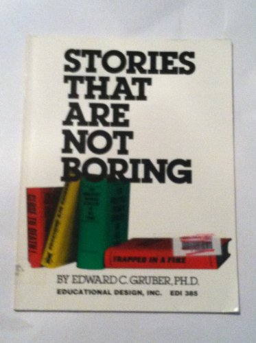 9780876941843: Stories That Are Not Boring
