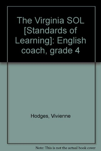 9780876948651: The Virginia SOL [Standards of Learning]: English coach, grade 4