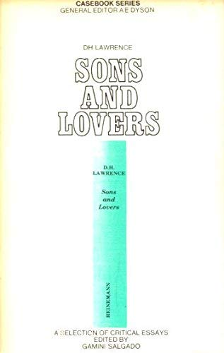 9780876950418: D. H. Lawrence: Sons and lovers;: A casebook (Casebook series, AC-12)