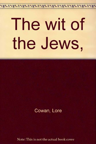 9780876951149: The wit of the Jews,
