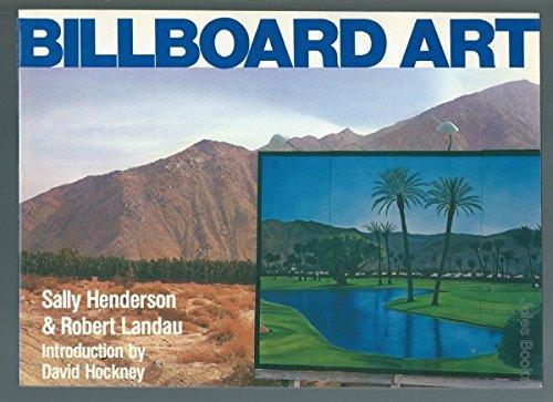 9780877011675: Billboard Art