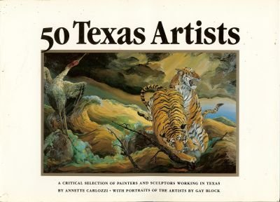 50 Texas Artists: Annette Carlozzi compiled by Laurel Jones