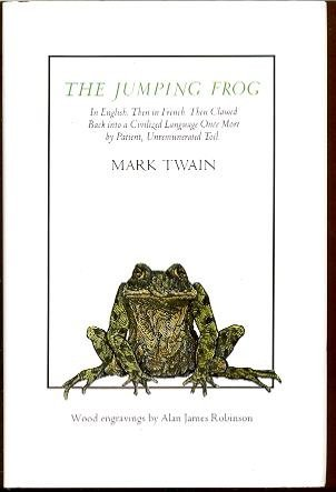 Jumping frog : in English, then in: Twain, Mark