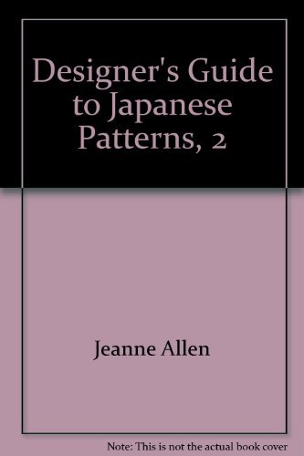 9780877015499: Designer's Guide to Japanese Patterns, 2