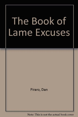 Book of Lame Excuses (0877017735) by Piraro, Dan