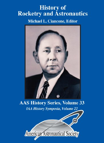 9780877035589: History of Rocketry and Astronautics: Proceedings of the Thirty-Sixth History Symposium of the International Academy of Astronautics, Houston, Texas, ... History Series- Iaa History Symposia 22)