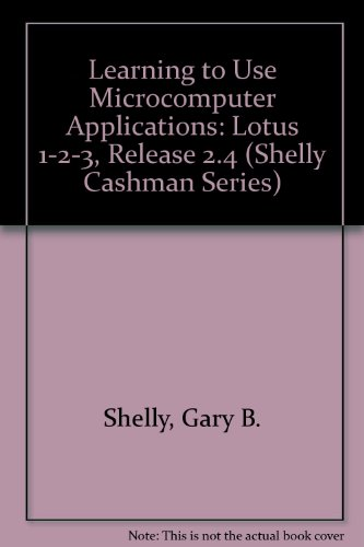 9780877090779: Learning to Use Microcomputer Applications (Shelly Cashman Series)