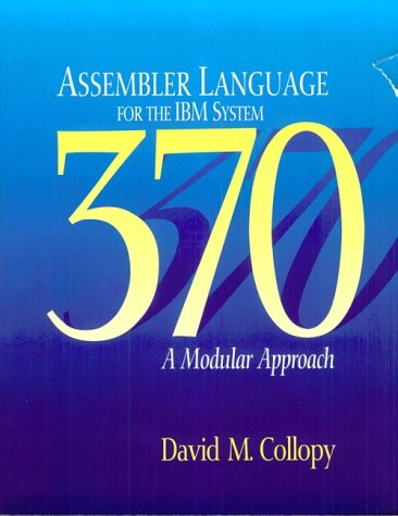 9780877090892: Assembler Language for the IBM System 370 a Modular Approach
