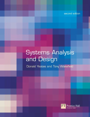 SYSTEMS ANALYSIS AND DESIGN: n/a