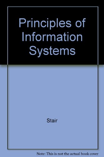 9780877098324: Principles of Information Systems