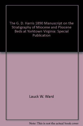 The G. D. Harris 1890 Manuscript on: Ward, Lauck W.
