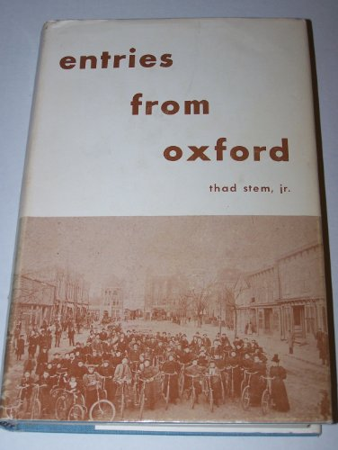 Entries from Oxford: Stem, Thad