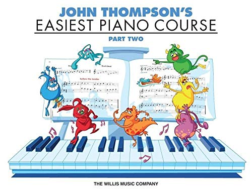 9780877180135: Easiest Piano Course Part 2 John Thompson's