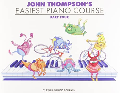 9780877180159: John Thompson's Easiest Piano Course - Part 4 - Book Only