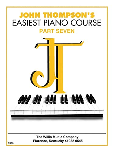 9780877180180: John Thompson's Easiest Piano Course, 7: Part 7 - Book Only