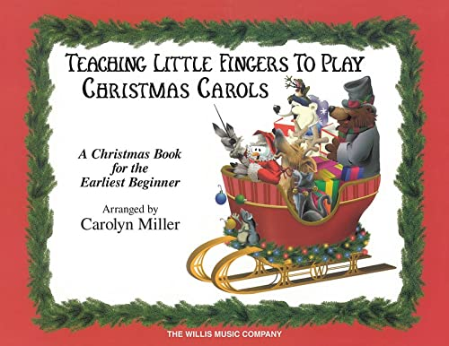 9780877180296: Teaching Little Fingers to Play Christmas Carols: A Christmas Book for the Earliest Beginner