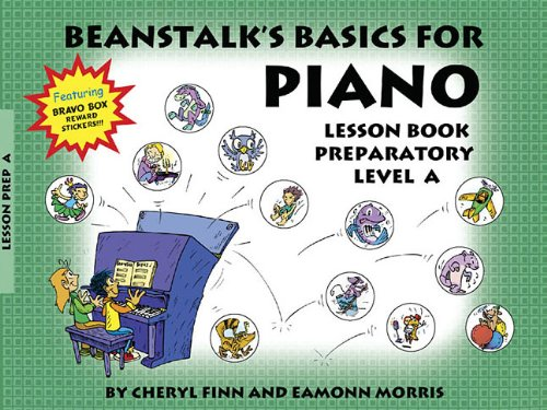 9780877180371: Beanstalk's Basics for Piano: Lesson Book Preparatory Book A