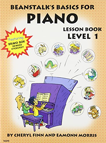9780877180395: Beanstalk's Basics for Piano, Lesson Book (Level 1)
