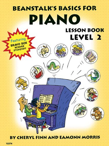 9780877180401: Beanstalk's Basics for Piano: Lesson Book, Level 2