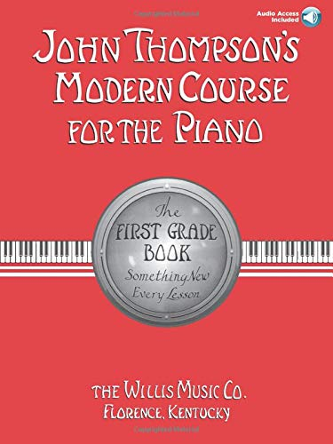 9780877180593: John Thompson's Modern Course for the Piano - First Grade (Book/Audio): First Grade - Book/Audio
