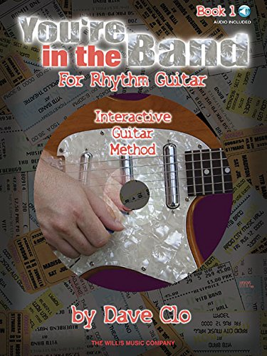 9780877180890: You're in the band - interactive guitar method guitare+CD