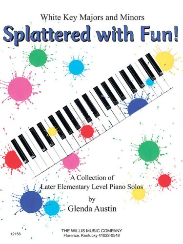 9780877181057: Splattered with Fun!: A Collection of Later Elementary Level Piano Solos