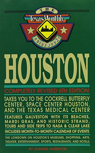 9780877192725: Houston (Lone Star Guides)