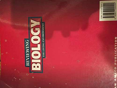 9780877200499: Reviewing Biology: With Sample exminations