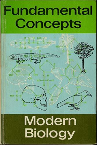 9780877200543: Fundamental Concepts of Modern Biology