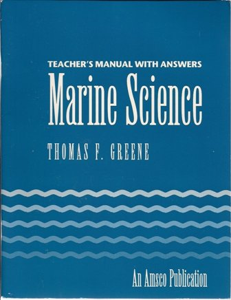 9780877200727: Teacher's Manual With Answers Marine Science
