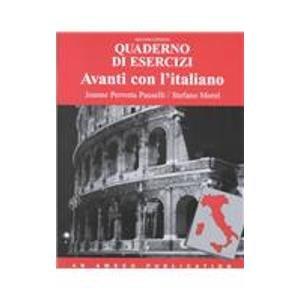9780877200956: Avanti Con L Italiano: Quaderno Desercizi