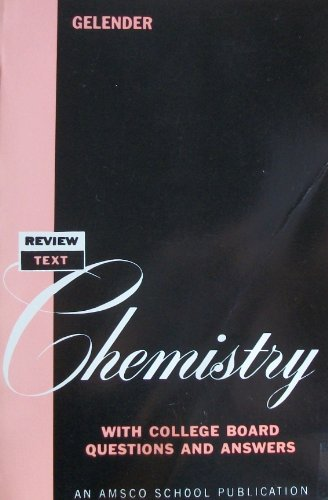 9780877201045: Review Text in Chemistry, with College Board Questions and Answers