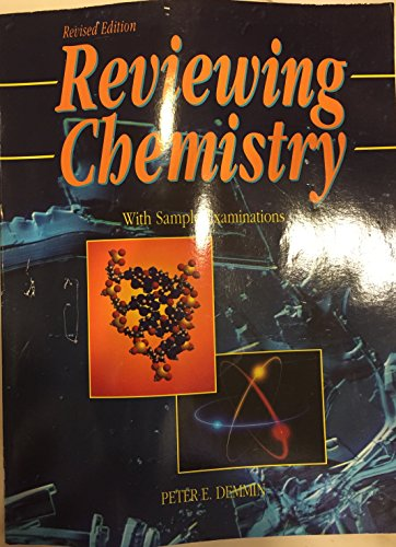 9780877201243: Reviewing Chemistry With Sample Examinations  (R 496 P)