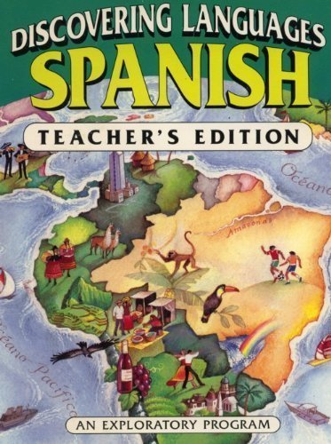9780877201380: Discovering Languages: Spanish (Teacher's Edition)