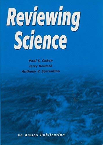Reviewing Science: Paul S. Cohen,