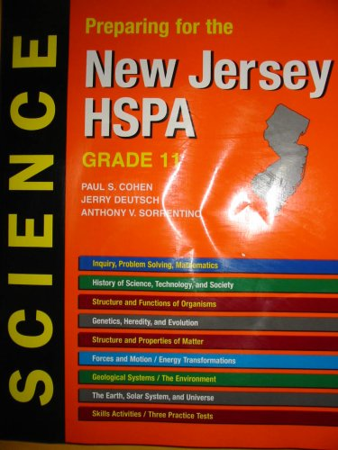 Preparing for the New Jersey HSPA SCIENCE: Paul S. Cohen;