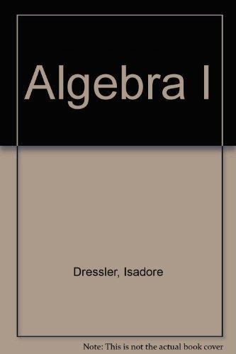 9780877202080: Algebra I